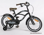 VOLARE BLACK CRUISER 16 JONGENS RN MAT ZWART