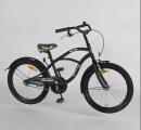 VOLARE BLACK CRUISER 20 JONGENS RN MAT ZWART