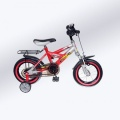 VOLARE THOMBIKE 12 JONGENS RN ROOD ZILVER