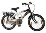 VOLARE THOMBIKE 18 JONGENS RN ZWART WIT