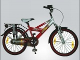 VOLARE THOMBIKE 20 JONGENS RN ROOD ZILVER ZWART