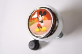 WIDEK BEL DISNEY MICKEY MOUSE CHROOM ZWARTE KNOP