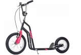 YEDOO CITY SCOOTER ZWART MAGENTAROZE