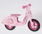 YIPEEH HELLO KITTY HOUTEN SCOOTER LOOPFIETS 12 INCH