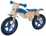 YIPEEH HOUTEN LOOPFIETS BLAUW