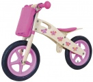 YIPEEH HOUTEN LOOPFIETS ROZE