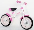 YIPEEH LOOPFIETS RECHT FRAME WIT ROZE