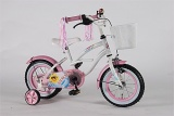 YIPEEH SUMMER CRUISER MEISJES RN WIT ROZE