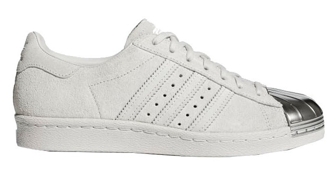 sneakers Superstar 80s dames wit/zilver