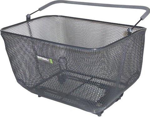 Basil cycling basket Catu rear 25 liters black (11143) - Internet-Bikes 431f8807cbf44