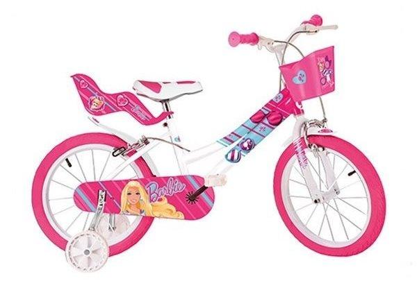 dino 146r barbie 14 zoll m dchen felgenbremse rosa. Black Bedroom Furniture Sets. Home Design Ideas