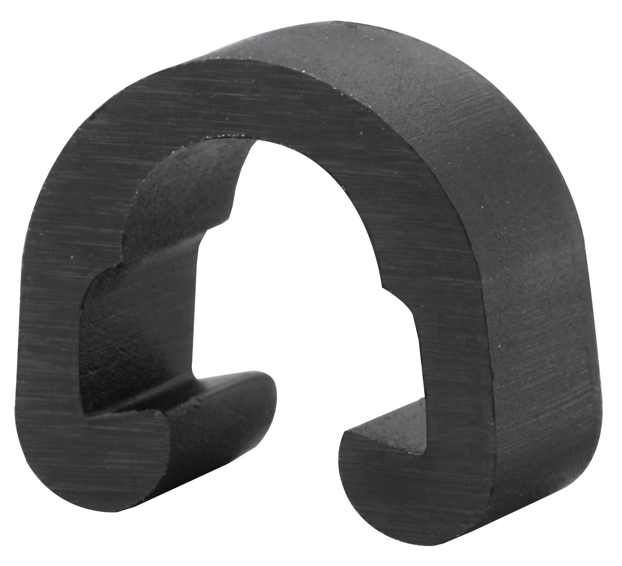 Elvedes Rahmenklemme für Brems 11,5 x 13 mm schwarz - Internet-Bikes