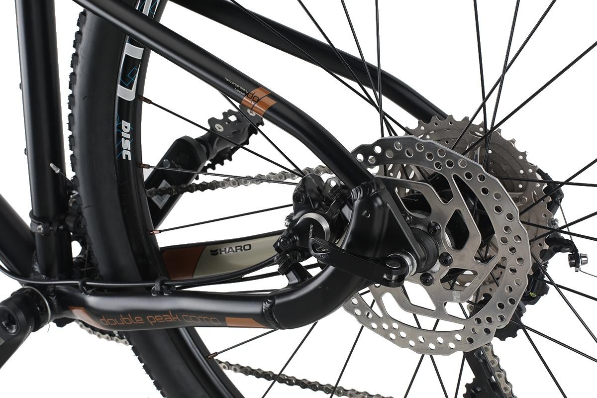 bd87a913ada Haro Double Peak 27.5 Inch Men 20SP Disc Brake Black - Internet-Bikes