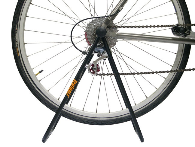 IceToolz display stand for rear wheel 1 bicycle steel black