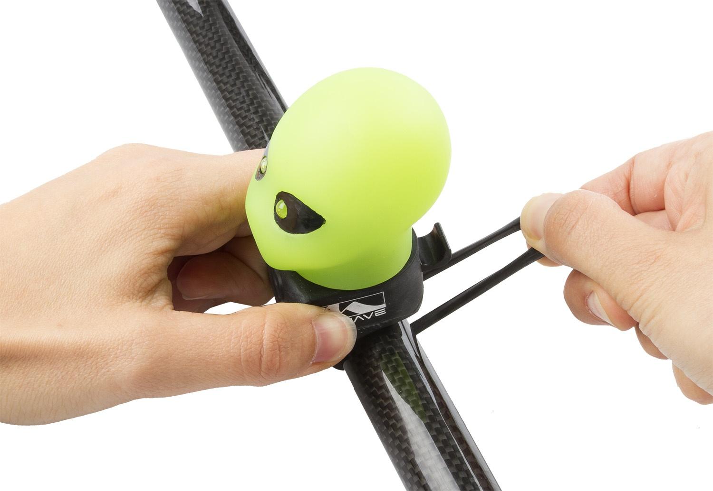 Groen Led Licht : M wave alien bike horn mit led licht grün internet bikes