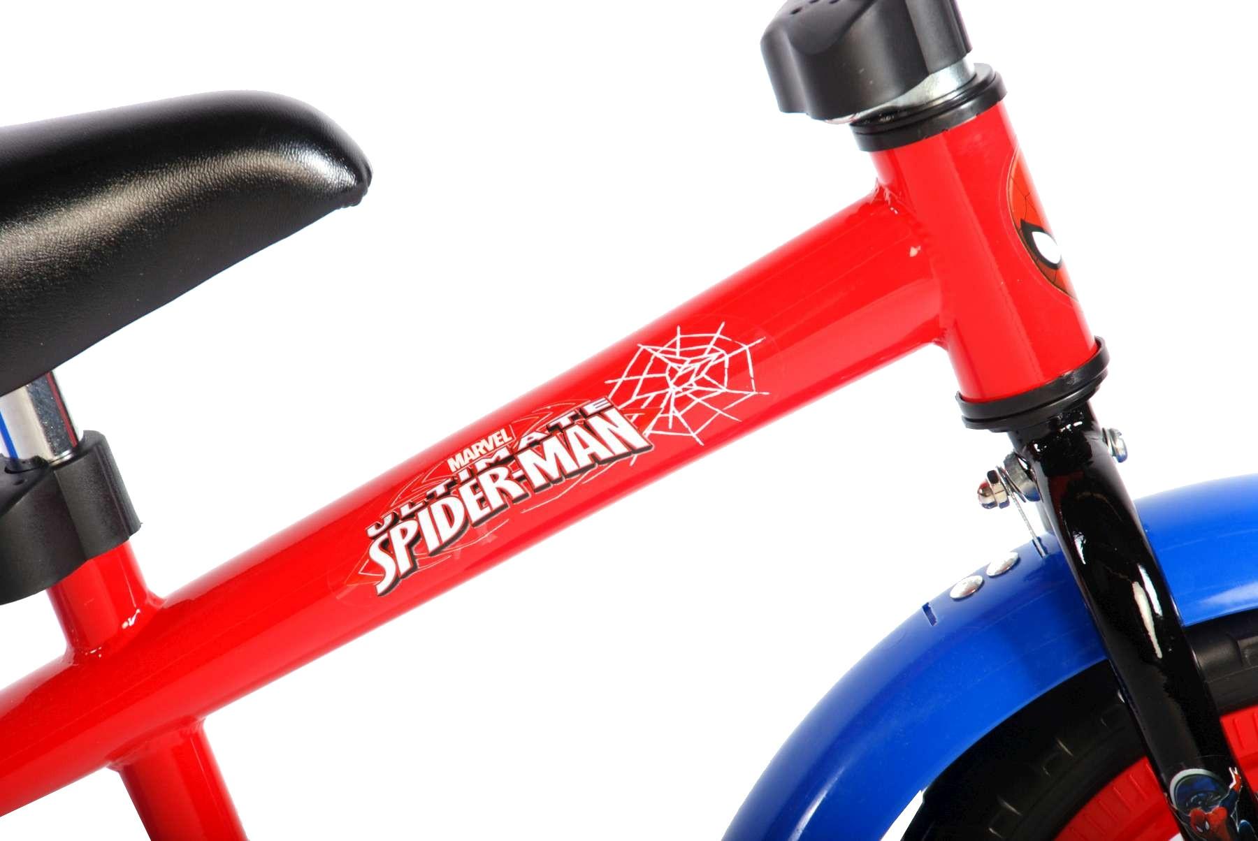 Volare Spider-Man loopfiets 12 Inch Jongens Rood - Internet-Bikes