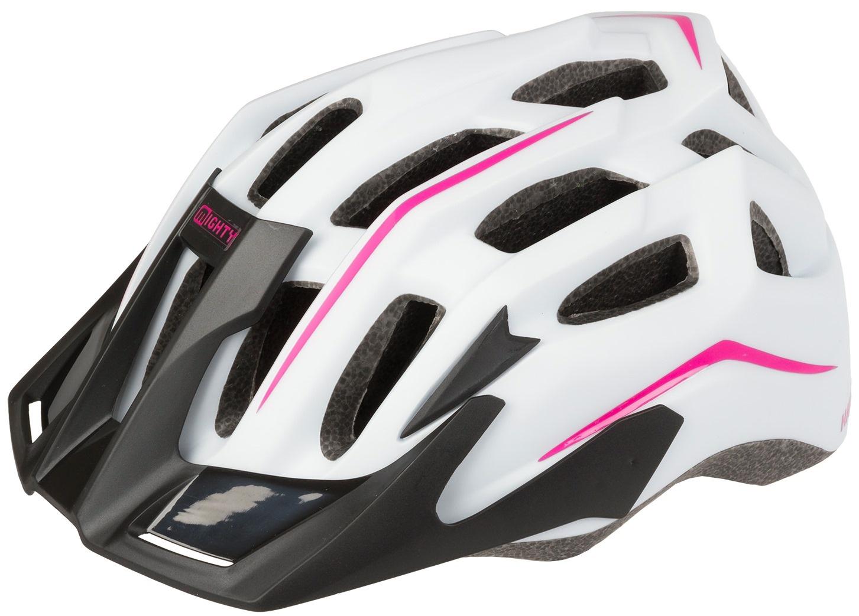 mighty fahrradhelm hawk damen wei pink internet bikes. Black Bedroom Furniture Sets. Home Design Ideas