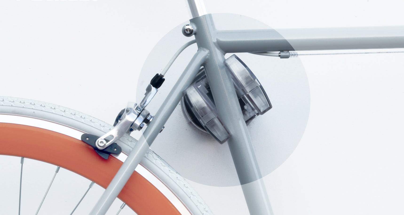 Peruzzo Cool Bike Rack 405 / T Wall Holder Transparent ...