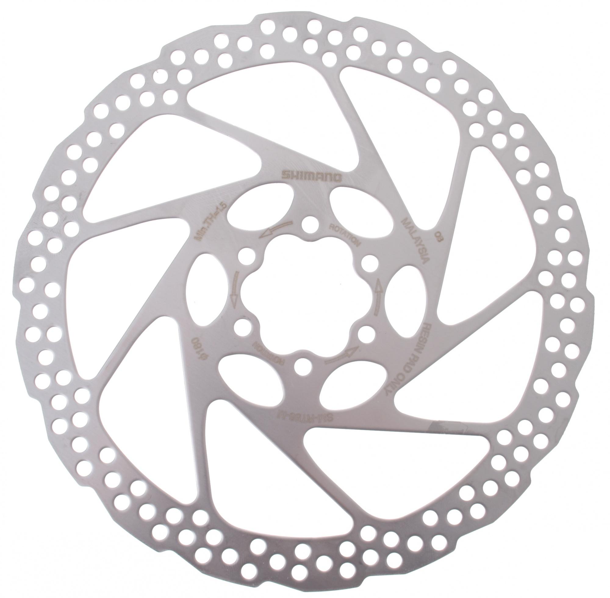 8194ea2d5ce Shimano brake disc SM-RT56 180 mm 6 holes steel silver - Internet-Bikes