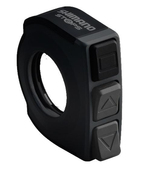 Steps switch knob SW-E6000 Di2 4 5 cm black
