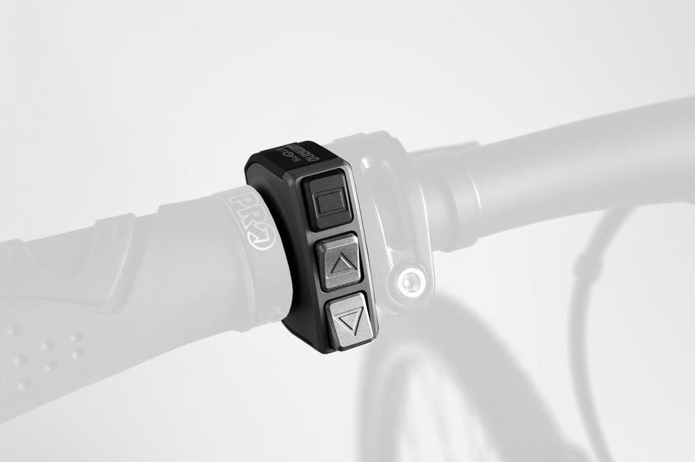 Shimano Steps switch knob SW-E6000 Di2 4 5 cm black - Internet-Bikes