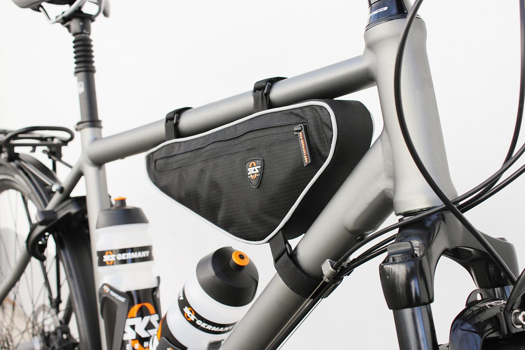 SKS Dreieck Rahmen Tasche 1.4 L Schwarz - Internet-Bikes