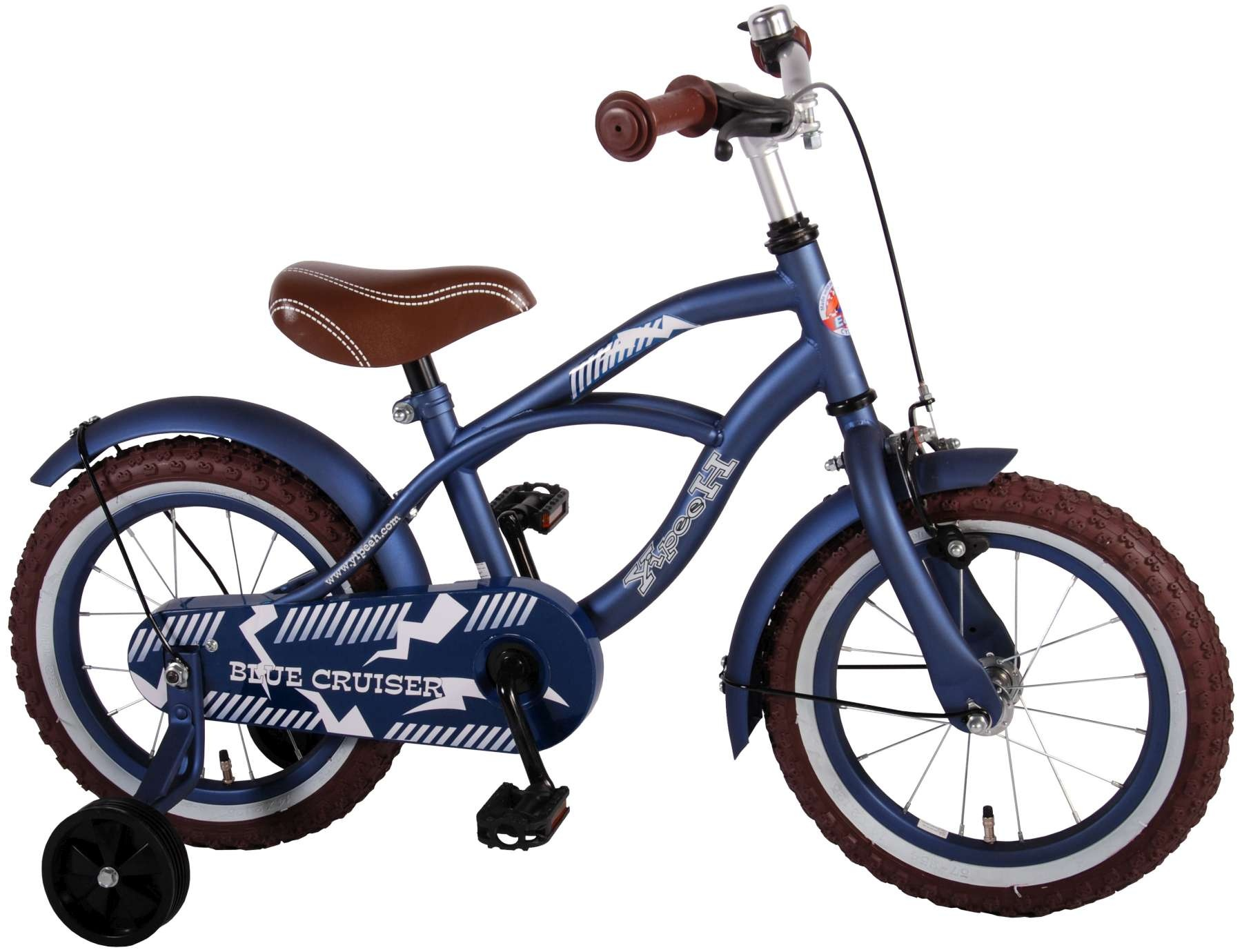 yipeeh blue cruiser 14 zoll 23 5 cm jungen r cktrittbremse. Black Bedroom Furniture Sets. Home Design Ideas