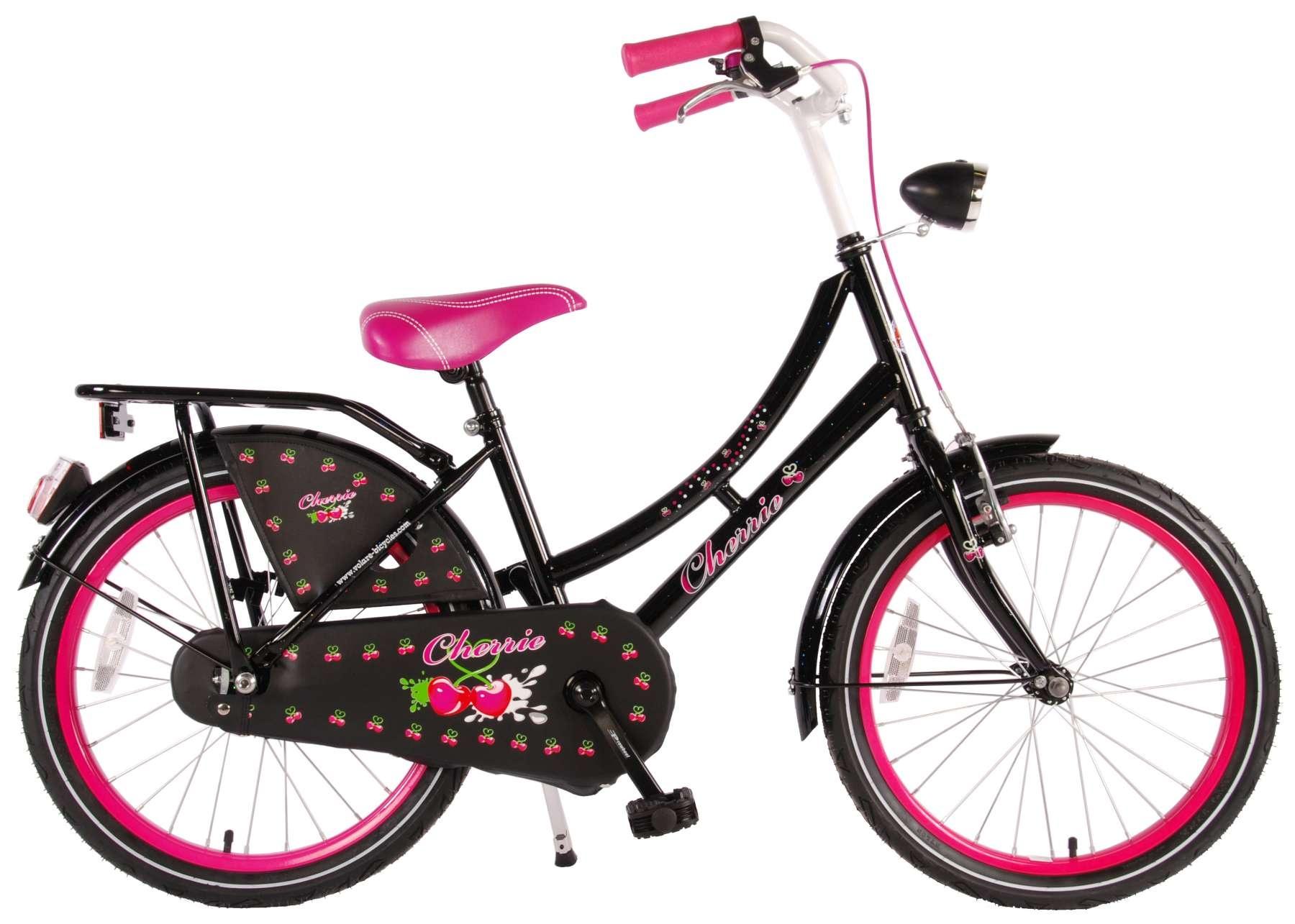 Volare Cherry Oma 20 Inch Girls Coaster Brake Black - Internet-Bikes