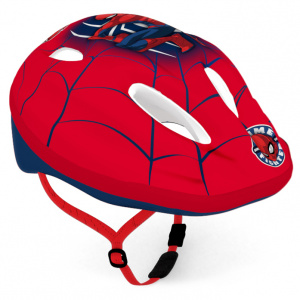 Marvel kinderhelm spiderman jongens rood maat 52-56