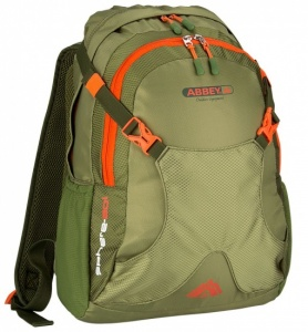 Abbey Outdoor Rugzak Sphere 20L unisex groen