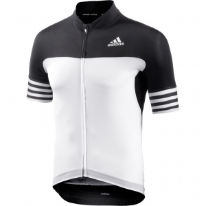 71329bc000 adidas cycling shirt Adistar SS men black   white