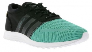 new arrival bb3e7 95589 adidas Los Angeles mens sneakers black  green