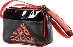 37956dc357 adidas shoulder bag black / orange 25 liters