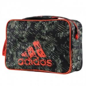 cdd0a2d6d8 adidas sport shoulder bag green / orange 25 liters