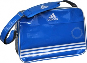 7986c8d4b895 adidas sports bag Shiny 28 liter unisex blue