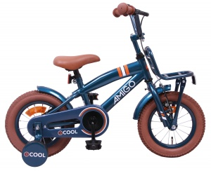AMIGO 2Cool 12 Inch Boys Coaster Brake Blue