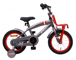 AMIGO 2Cool 14 Inch Boys Coaster Brake Grey