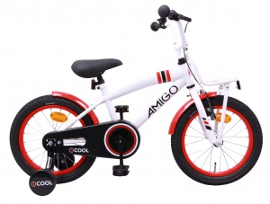 AMIGO 2Cool 14 Inch Boys Coaster Brake White