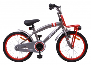 AMIGO 2Cool 18 Inch Boys Coaster Brake Grey