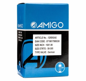 AMIGO Inner tube 16 x 1.90 (50-305) DV 45 mm