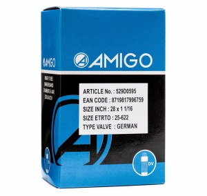 AMIGO Inner tube 28 x 1 1/16 (25-622) DV 42 mm