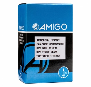 AMIGO Inner tube 28 x 2.10 (54-622) FV 42 mm