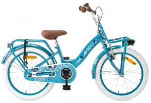 AMIGO Bloom 18 Inch Girls Coaster Brake Turquoise