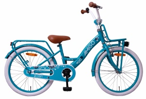 AMIGO Bloom 20 Inch Girls Coaster Brake Turquoise