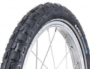 Set f/ür Ihre Kinder = 2X 47-305 Reifen 16 x 1.75 DV 40 mm P4B   2X Schl/äuche 16 Zoll FORMGEHEIZT Komplettes 16 Zoll Fahrrad Reifen