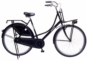 AMIGO Eclypse 28 Inch 56 cm Women Coaster Brake Black
