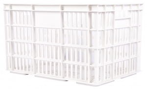 AMIGO bicycle crate plastic 33.6 litres white