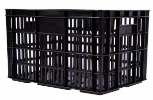 AMIGO bicycle crate plastic 33.6 litres black