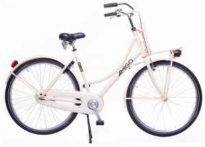 AMIGO Forest 28 Inch 53 cm Women Coaster Brake Cream