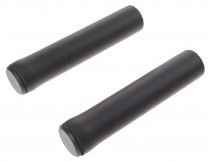 M-Wave grips 130 mm silicon black per set